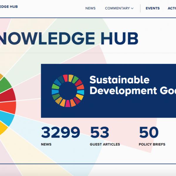 IISD opens new SDG knowledge hub